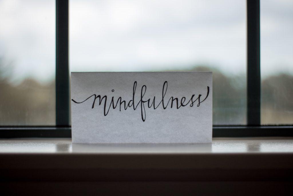 Ikigai Holisitics - Yoga Whitstable - mindfulness sign