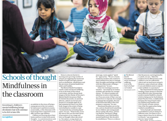 Mindfulness in the Classroom - Yoga Blog